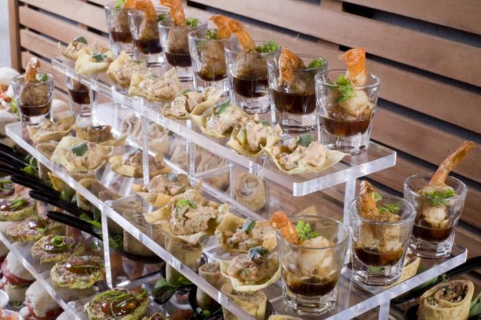 Hochzeit Buffet  41 super interessante Buffet Ideen Archzine