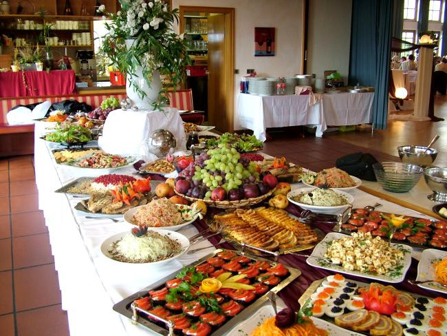 Hochzeit Buffet  Rezept backofen Buffet hochzeit