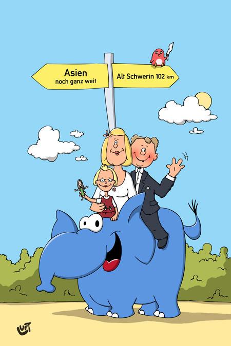 Hochzeit Cartoon  cartoonalarm