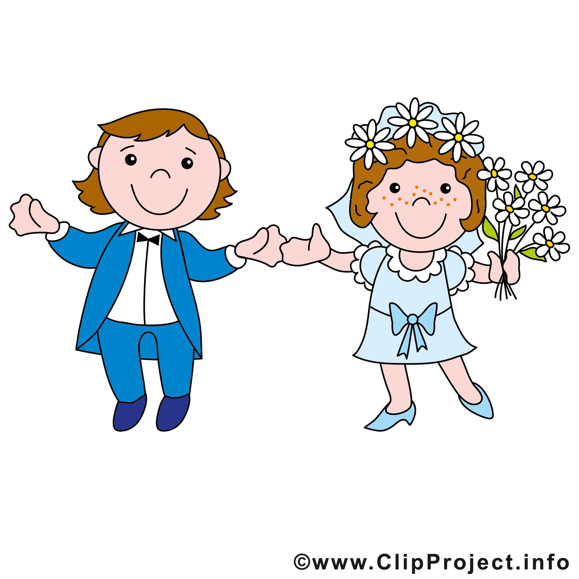 Hochzeit Cartoon  Hochzeit Cartoon Brautpaar
