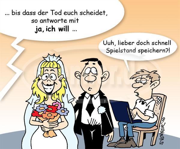 Hochzeit Cartoon  Hochzeit ic