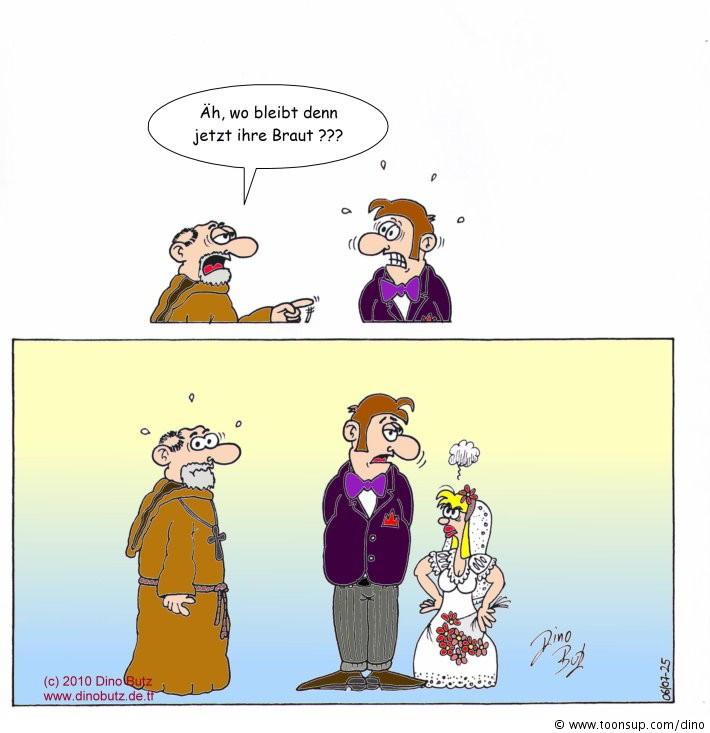 Hochzeit Cartoon  Cartoon Hochzeit