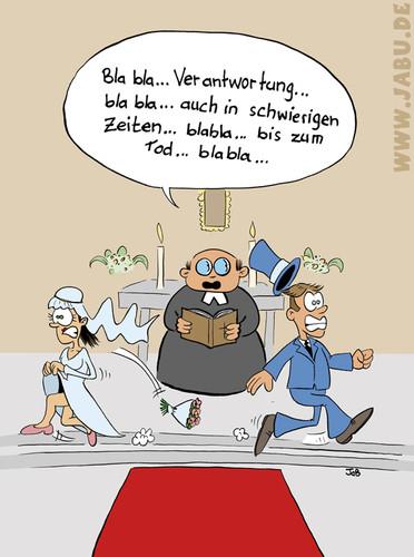 Hochzeit Cartoon  Hochzeit von Bruder JaB Religion Cartoon