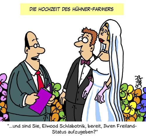 Hochzeit Cartoon  Hochzeit von Karsten Liebe Cartoon