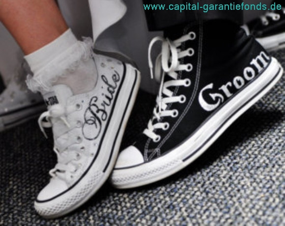 Hochzeit Chucks  Converse Chucks Hochzeit capital garantiefonds