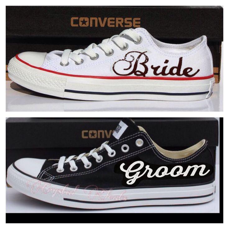 Hochzeit Chucks  Converse Chucks Hochzeit blau4drei9