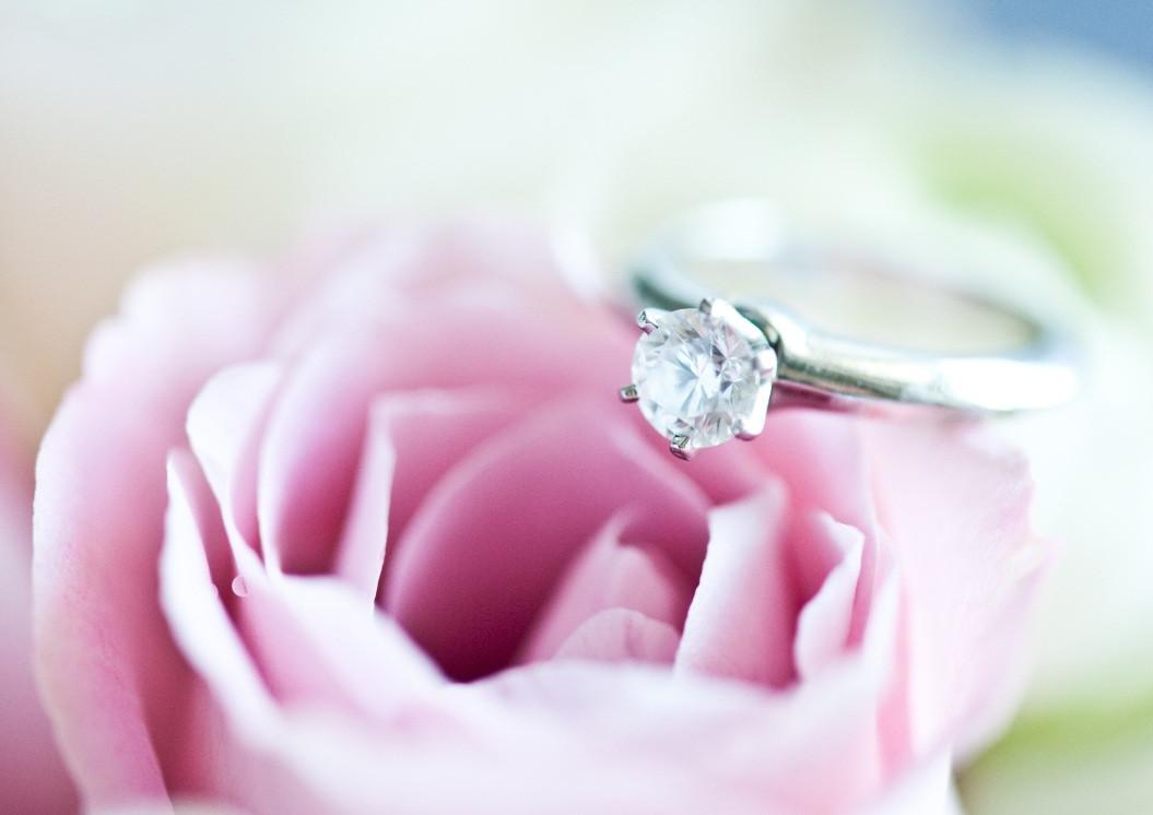 Hochzeit Diamant  Diamantring Luxus Verlobungsring mit Diamanten & Brillianten