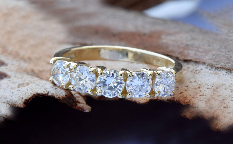 Hochzeit Diamant  1 Karat Diamant Ewigkeit Hochzeit