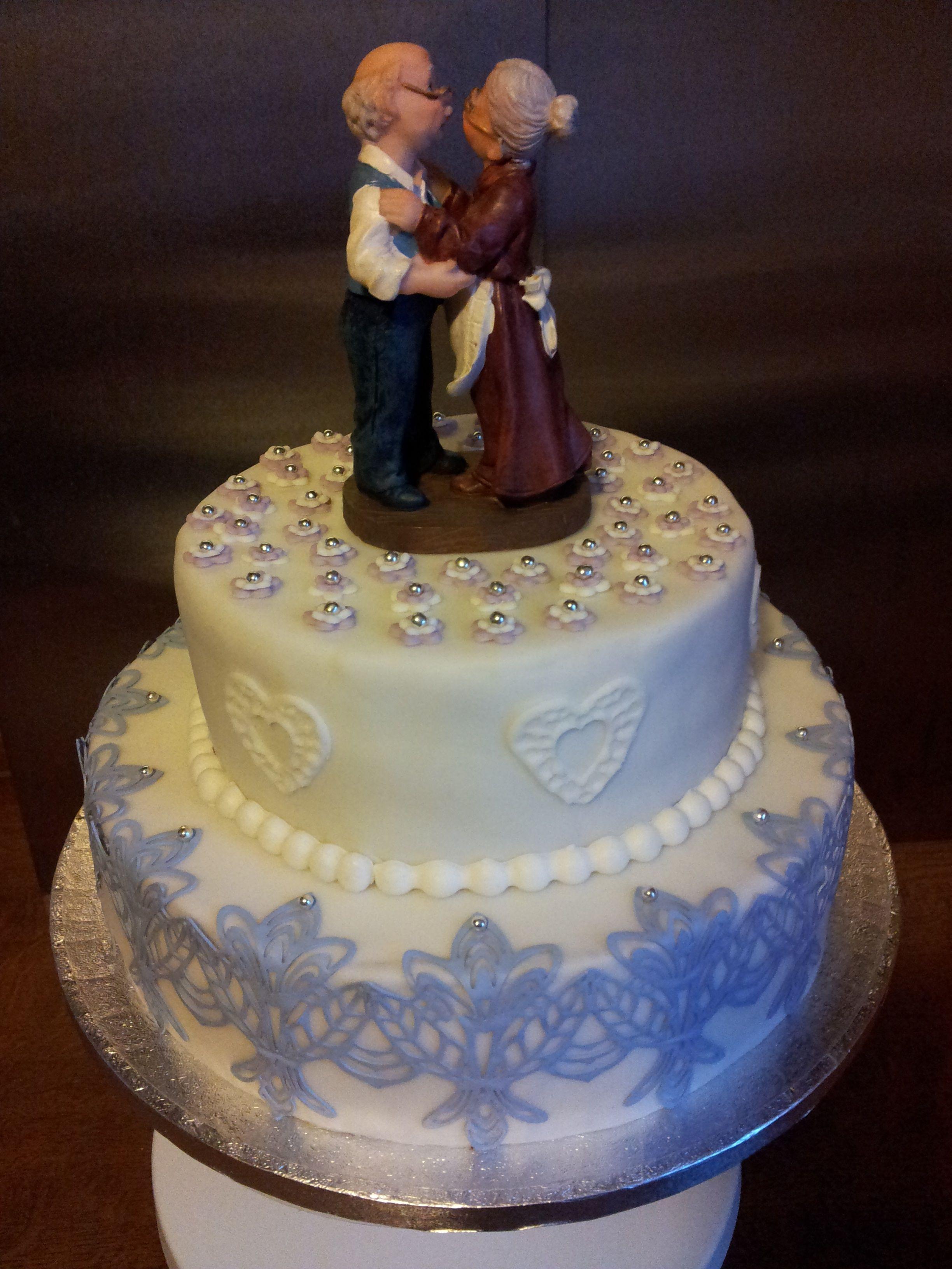 Hochzeit Diamant  Torte zur Diamant Hochzeit