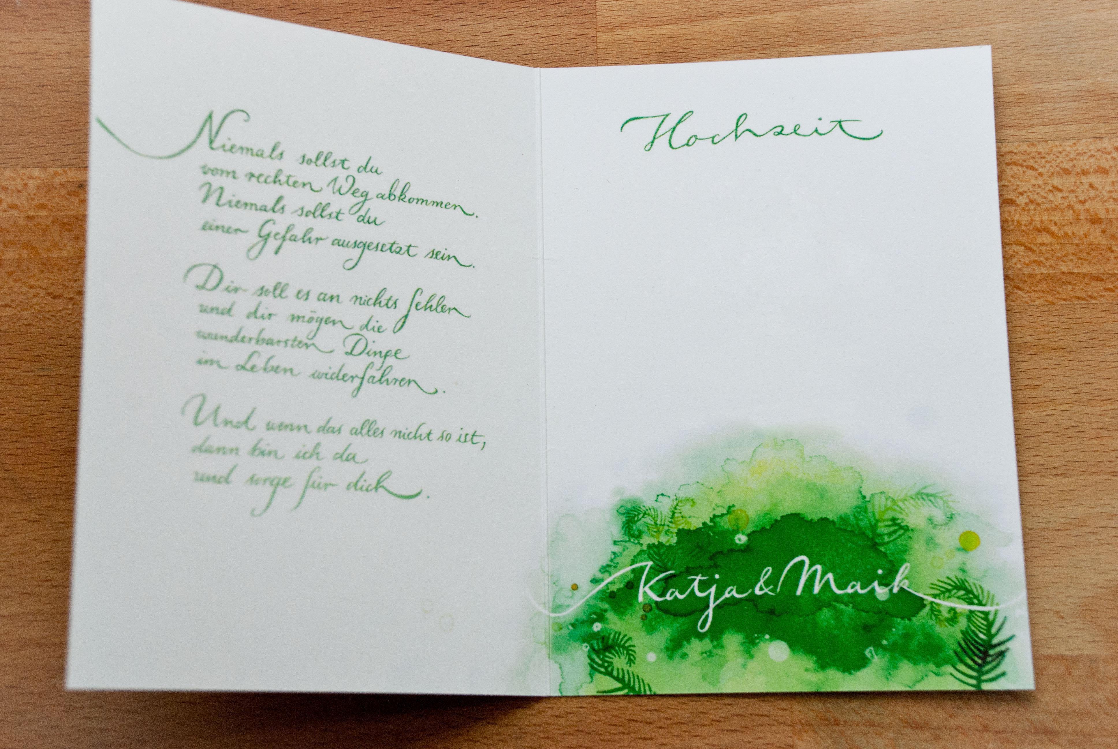 Hochzeit Einladungskarten Text  Einladungskarten Hochzeit Text