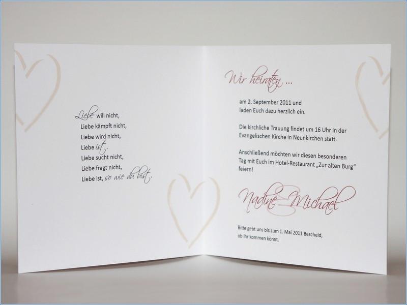 Hochzeit Einladungskarten Text  Texte Einladungen Hochzeit – travelslow