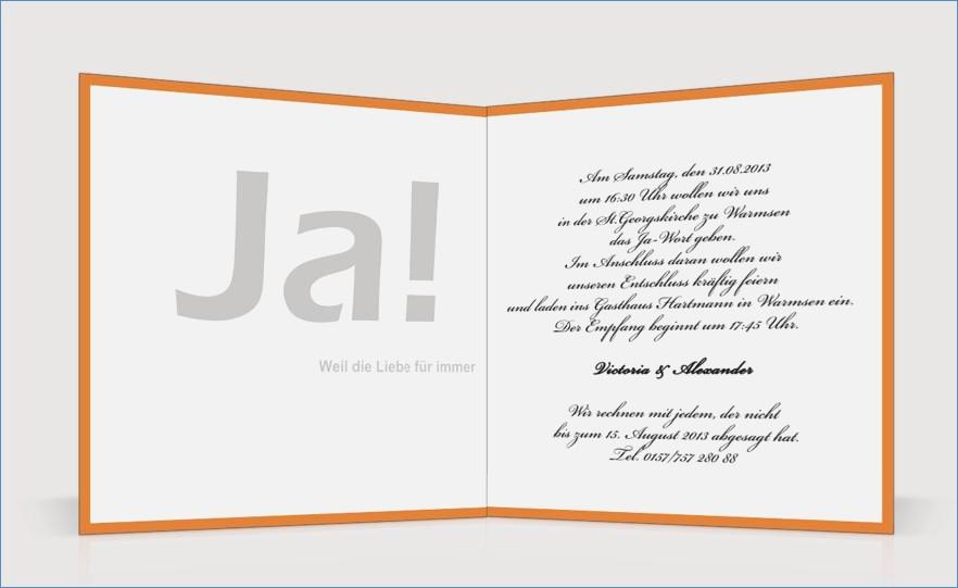 Hochzeit Einladungskarten Text  Einladungskarten Hochzeit Text Beispiel – travelslow