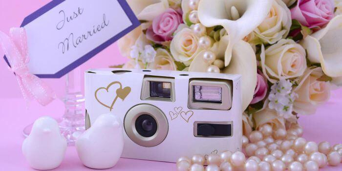Hochzeit Einwegkamera  Einwegkamera zur Hochzeit ein besonderes Geschenk zur