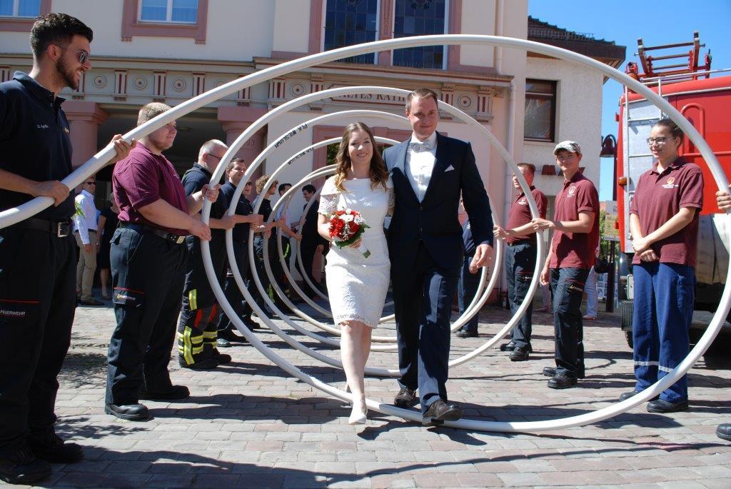 Hochzeit Feuerwehr  Glückwunsch zur Feuerwehr Hochzeit Freiwillige Feuerwehr