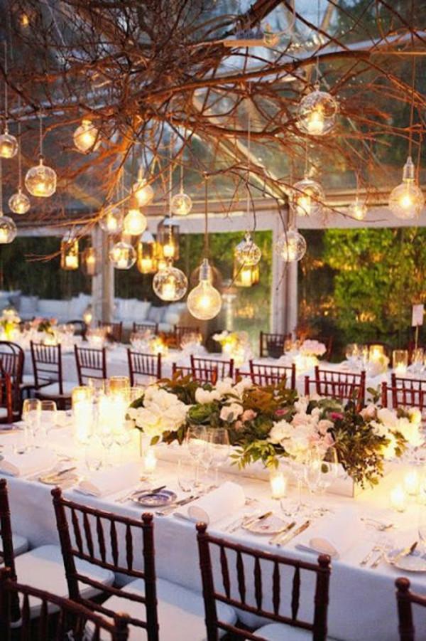 Hochzeit Gartenparty  Windlichter spektakulär für schönste Gartenparty