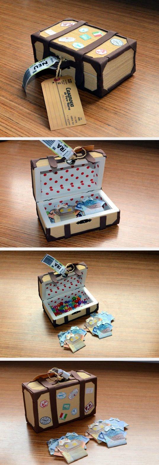 Hochzeit Geschenk Geld  Hochzeitsgeschenk Geld kreativ verpacken 71 DIY