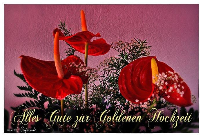 Hochzeit Grüße  Für Goldene Hochzeit viele Grüße und weitere schöne