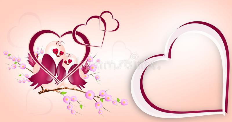 Hochzeit Grüße  Hochzeitsgrüße stock abbildung Illustration von valentine