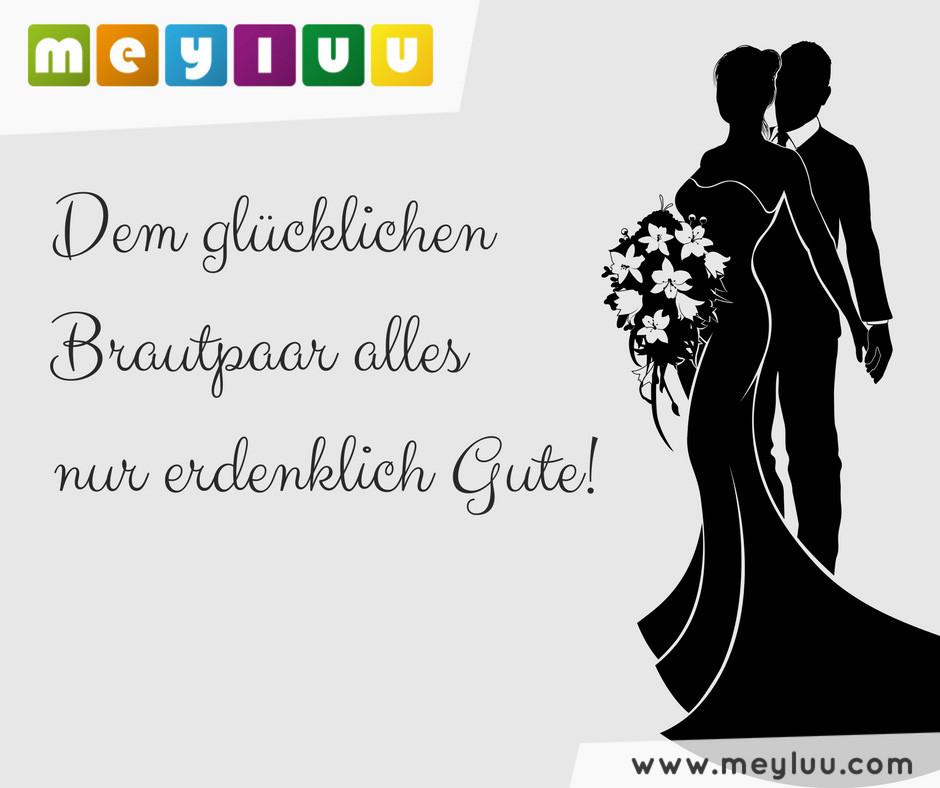 Hochzeit Grüße  Lustige Hochzeitssprüche und schöne Hochzeitswünsche