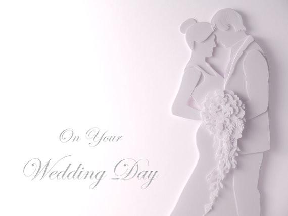 Hochzeit Grüße  Einzigartige Deluxe Hochzeit Grüße Karten und Einladungen in