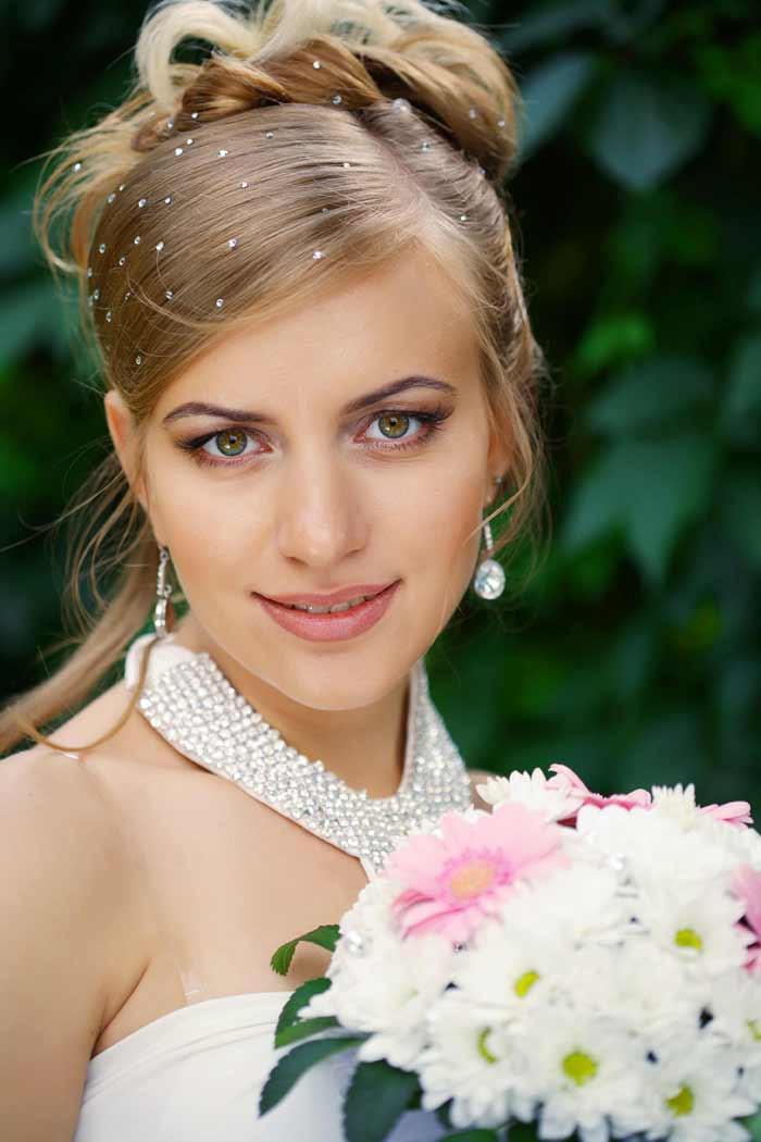 Hochzeit Hochsteckfrisuren  Hochsteckfrisuren Hochzeit Bildergalerie Hochzeitsportal24