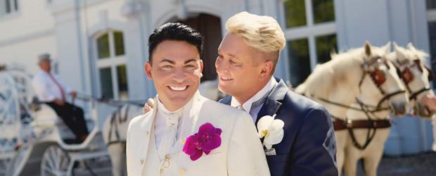 Hochzeit Hubert Und Matthias  Vox punktet mit Hochzeit RTL II geht mit Märchen unter