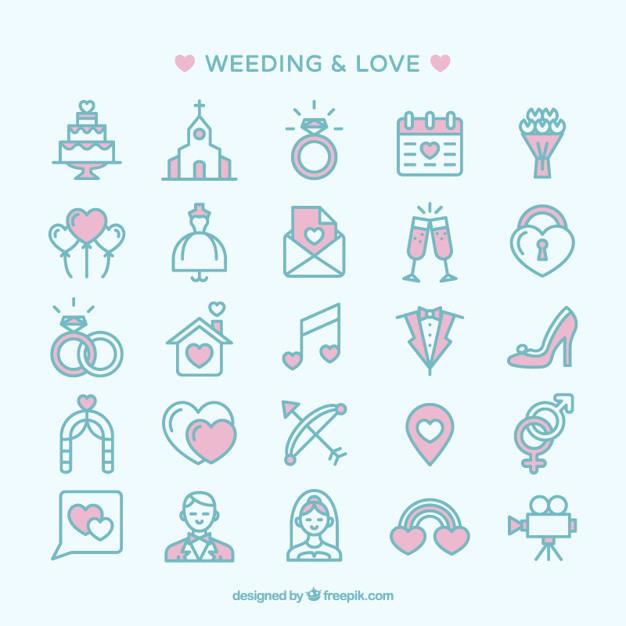 Hochzeit Icon  Hochzeit und Liebe Icons