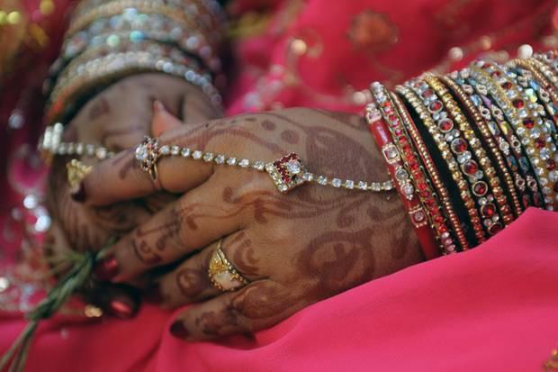 Hochzeit Indien  Bräutigam von Chaos Hochzeit in In n Ich wurde unter