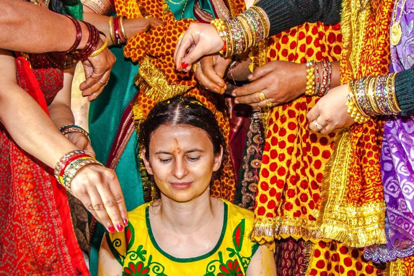 Hochzeit Indien  Hochzeit In n 3 – Ritual of Turmeric Haldi