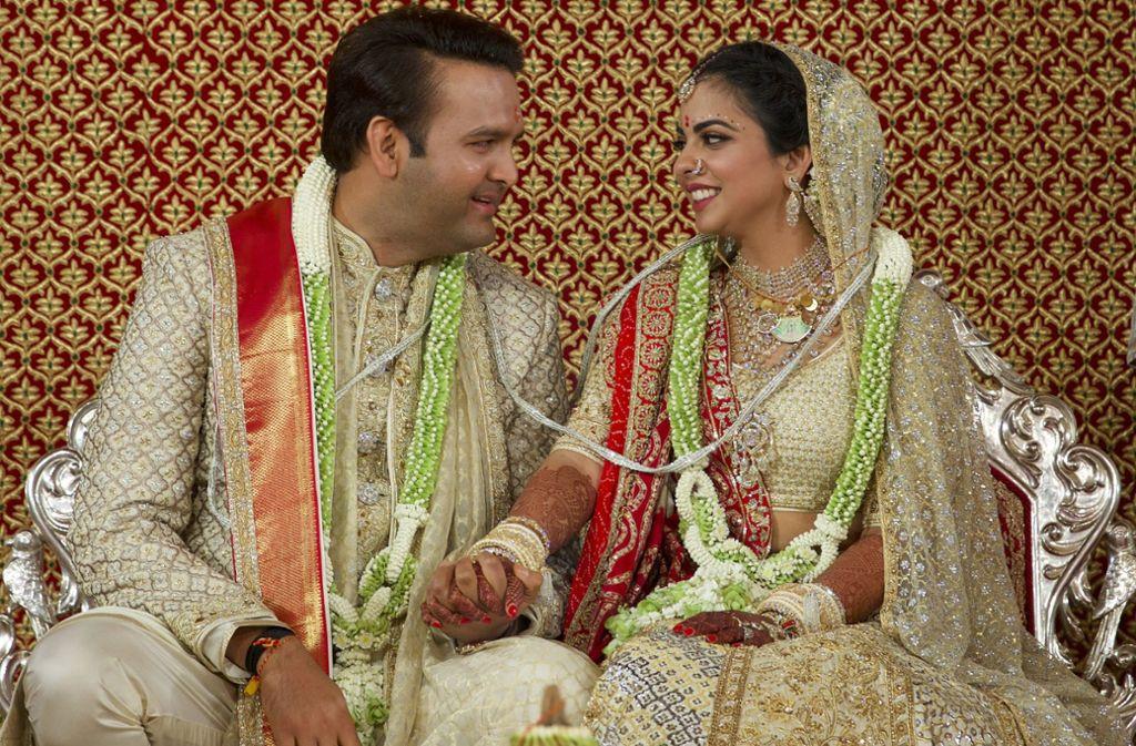 Hochzeit Indien  Trauung von Milliardärssprösslinge Hochzeit des Jahres in