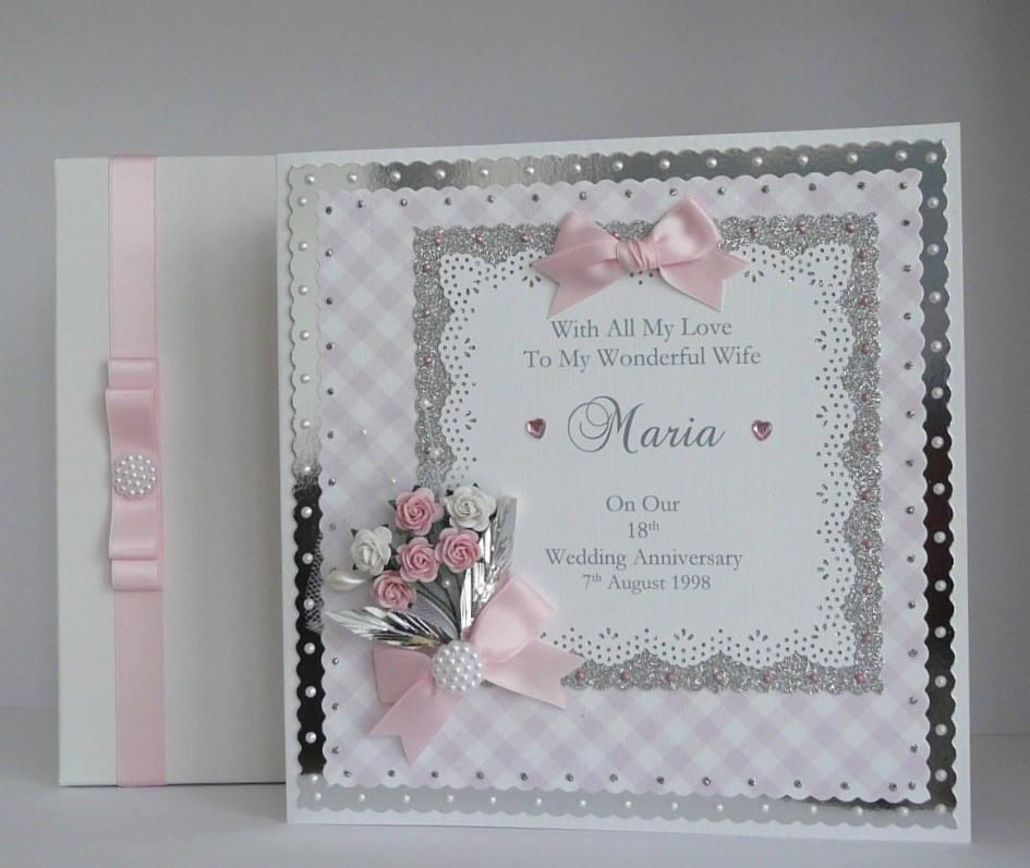Hochzeit Jubiläum  Hochzeit Jubiläum Karte für Frau Mann Mama Papa Freunde
