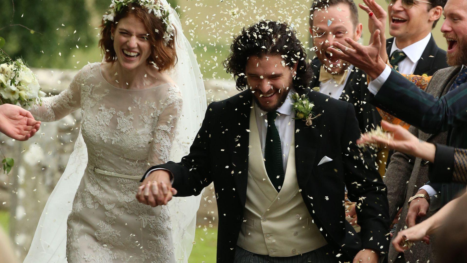 Hochzeit Kit Harington  Sie haben Ja gesagt GoT Kit Harington hat Rose geheiratet