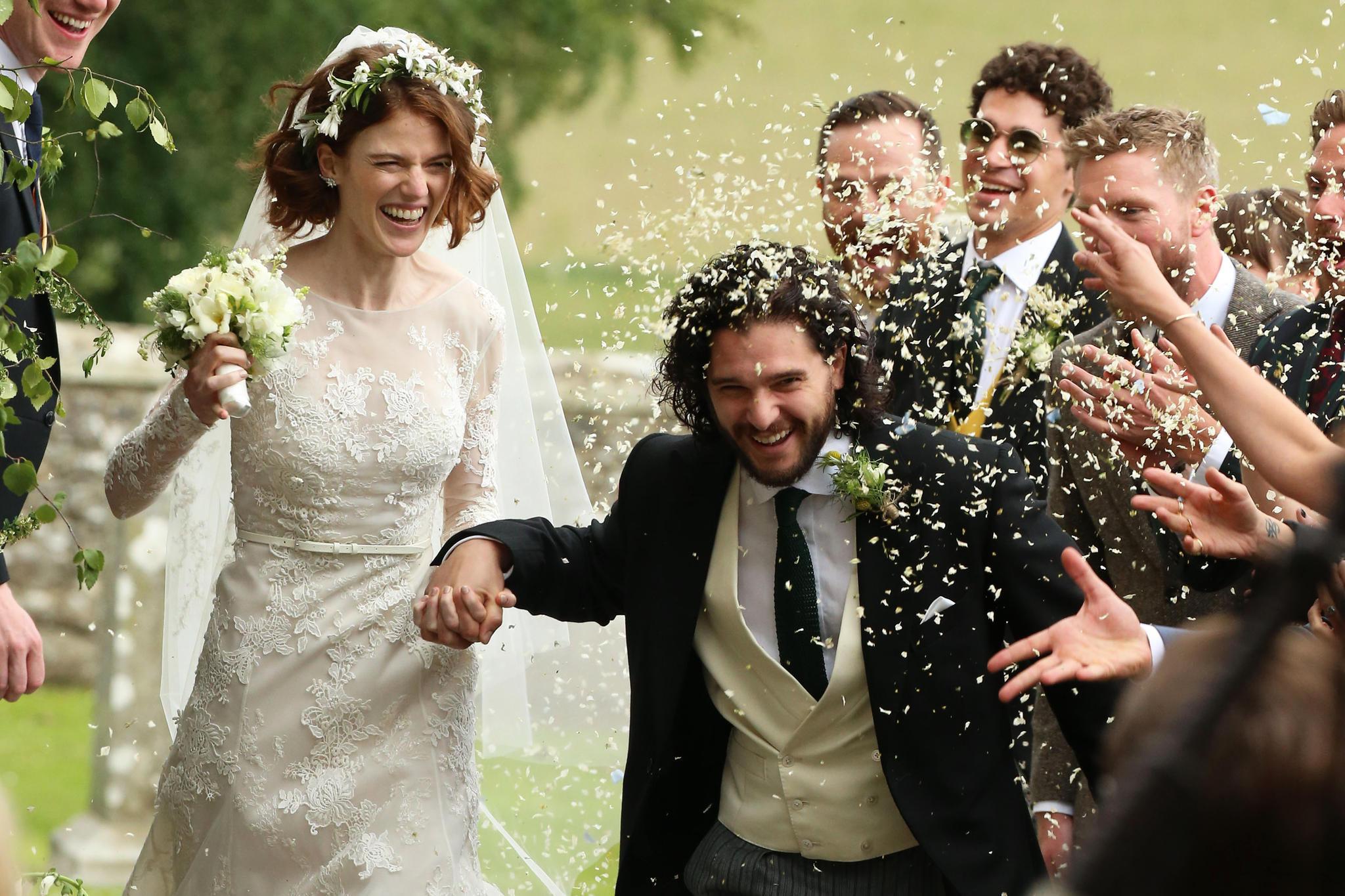 "Hochzeit Kit Harington  Kit Harington Rose Leslie ""Game of Thrones"" Stars haben"