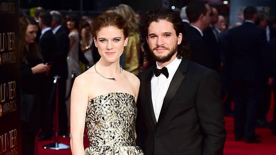 """Hochzeit Kit Harington  """"Game of Thrones"""" Trauung Kit Harington und Rose Leslie"""