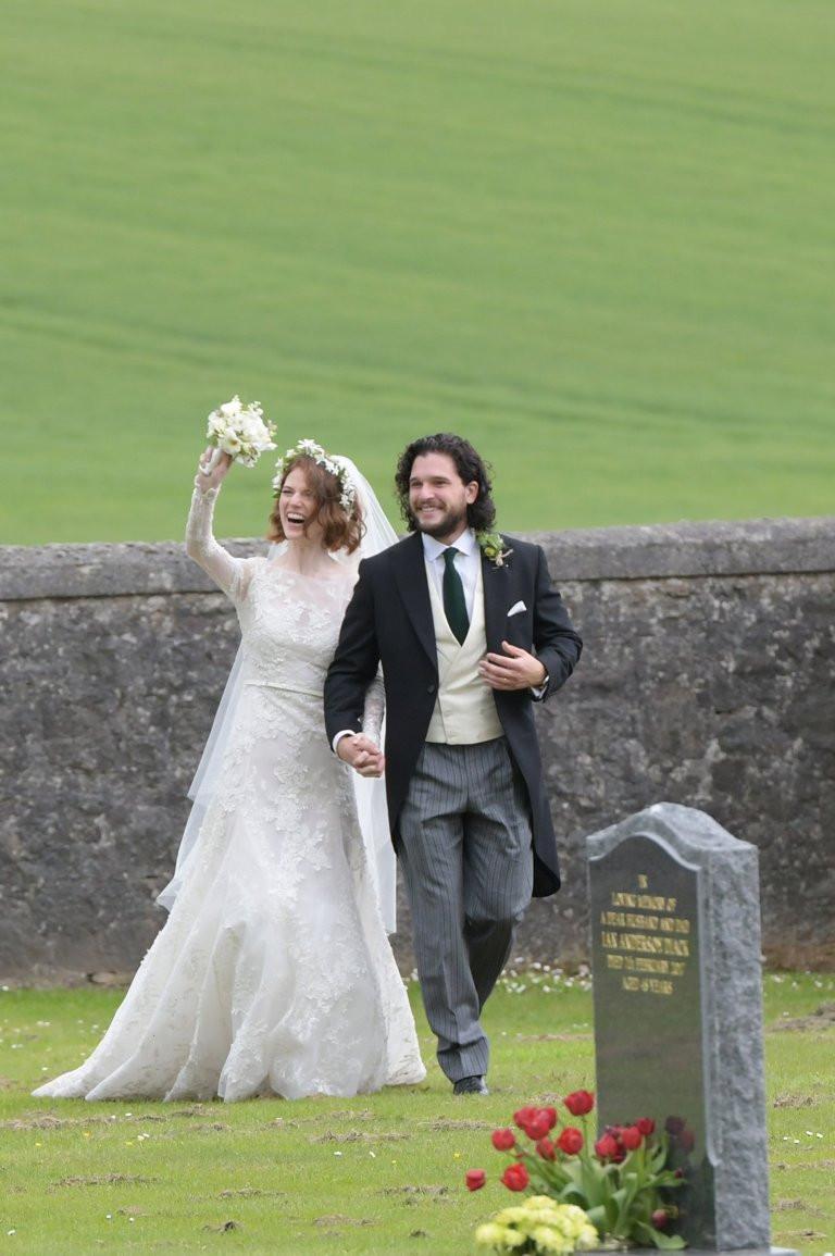Hochzeit Kit Harington  Die Gäste schauen noch schlimmer für Verschleiß da lassen