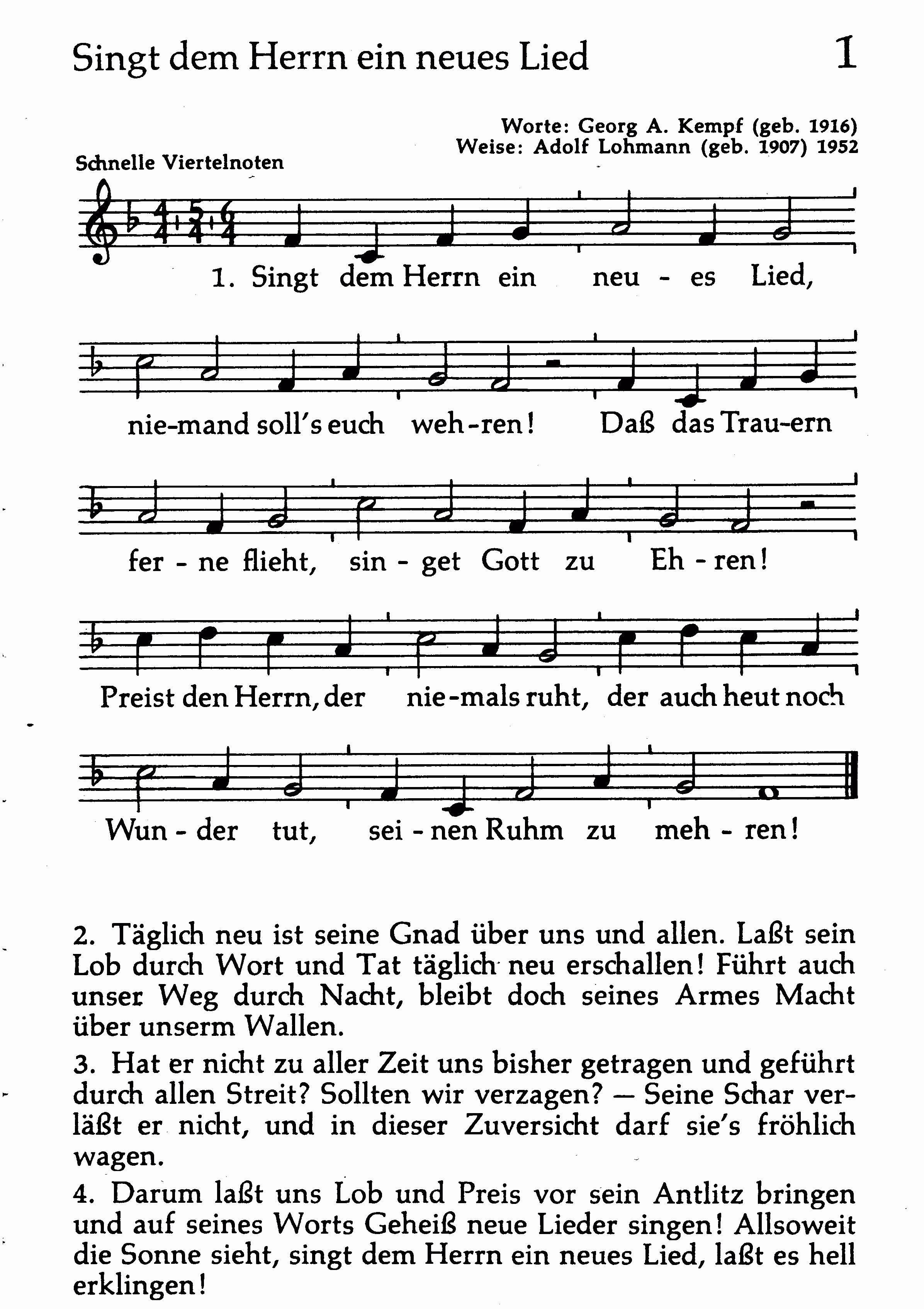 Lieder Kirche