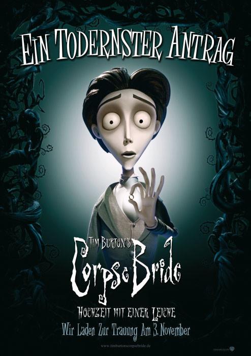 Hochzeit Mit Einer Leiche  plakat Tim Burton s Corpse Bride Hochzeit mit einer