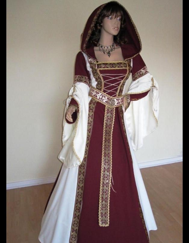 Hochzeit Mittelalter  Mittelalter Mittelalter Braut Kleid Hochzeit Gewandung