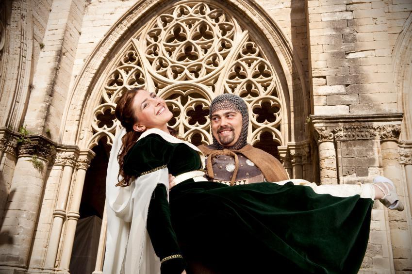 Hochzeit Mittelalter  Mittelalter Hochzeit