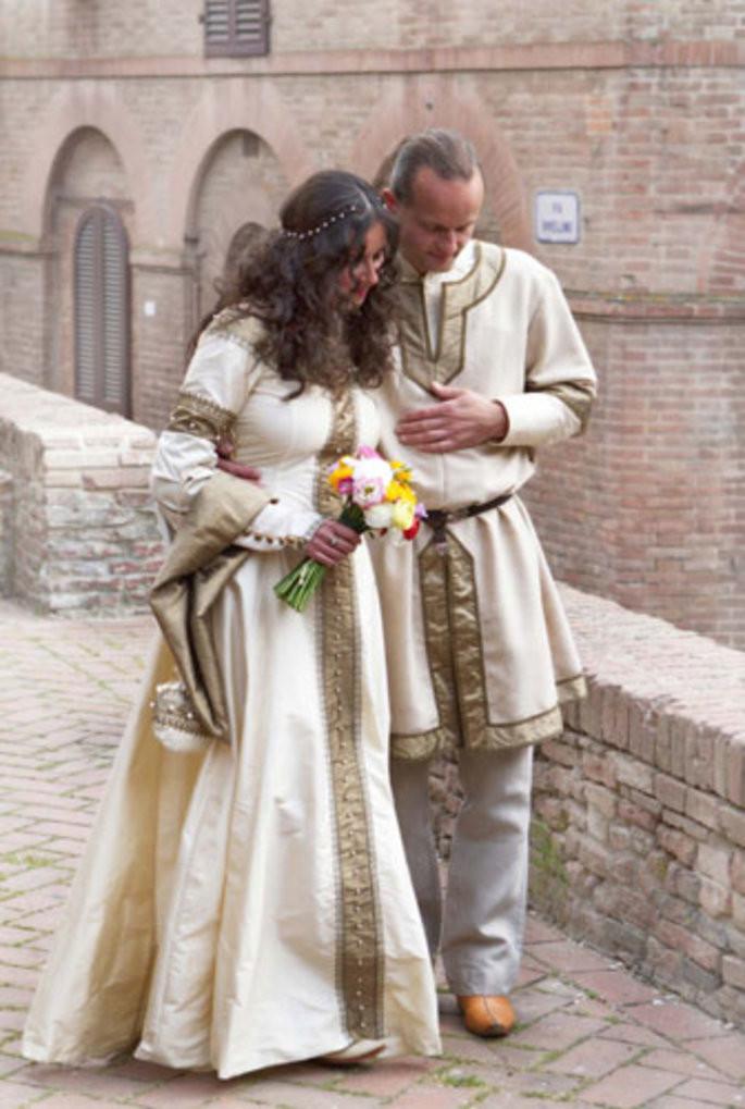 Hochzeit Mittelalter  Mittelalterliche Hochzeit