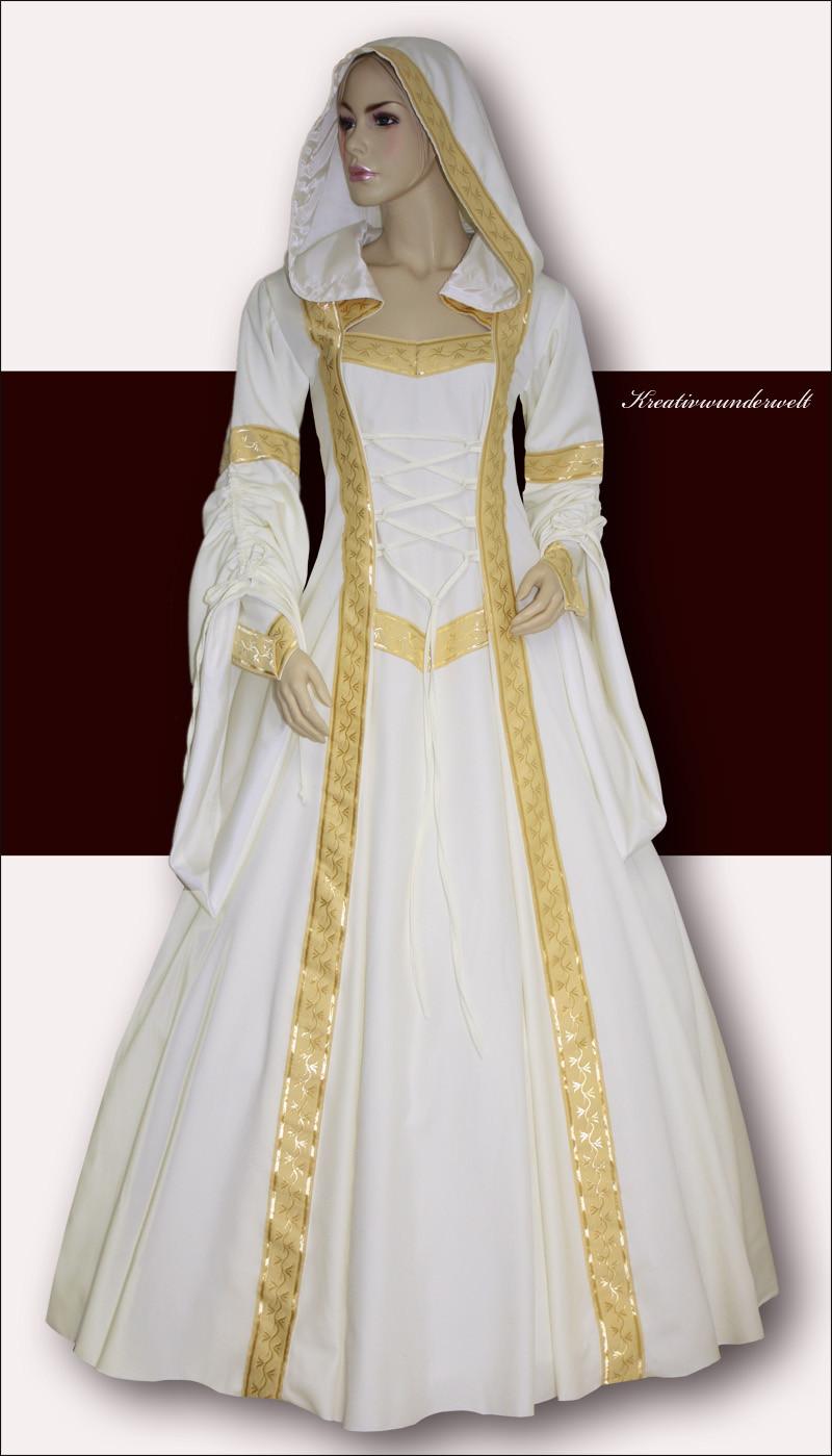Hochzeit Mittelalter  AMALIA V Mittelalter Hochzeit Kleid Gewand Elben