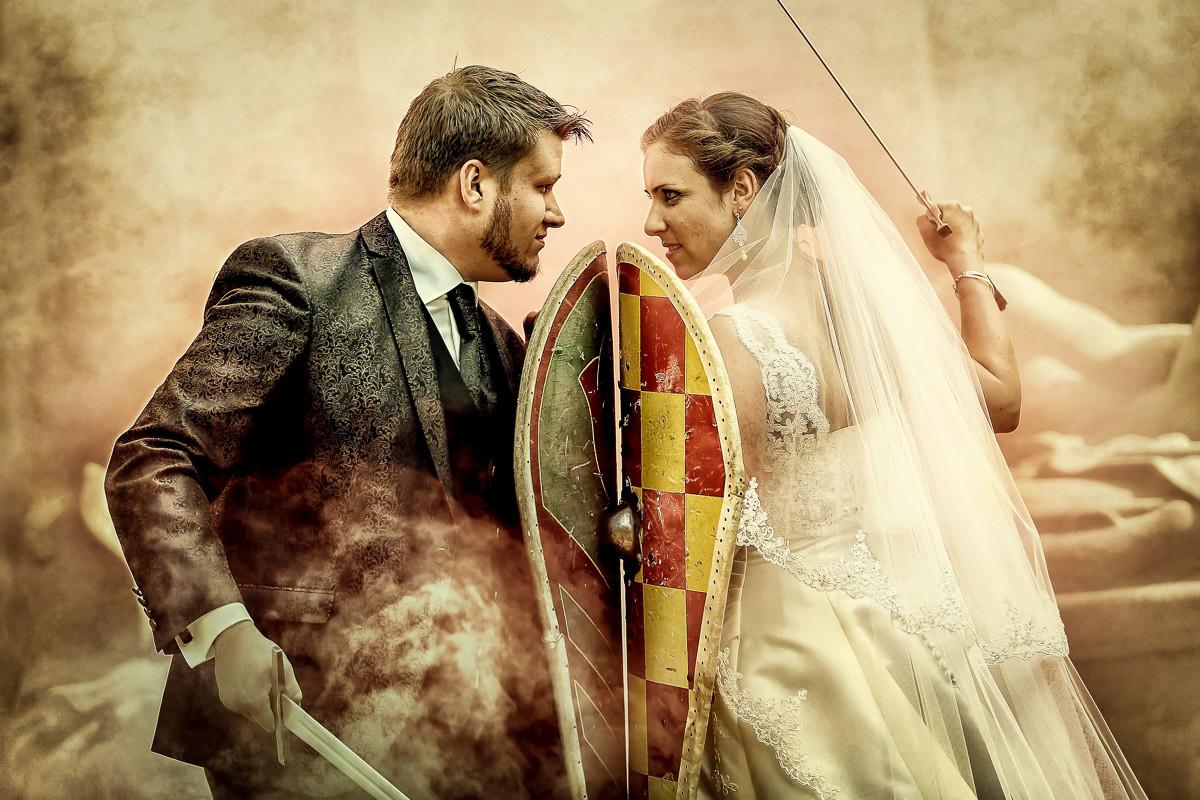 Hochzeit Mittelalter  Mittelalterliche Brautpaarfotos