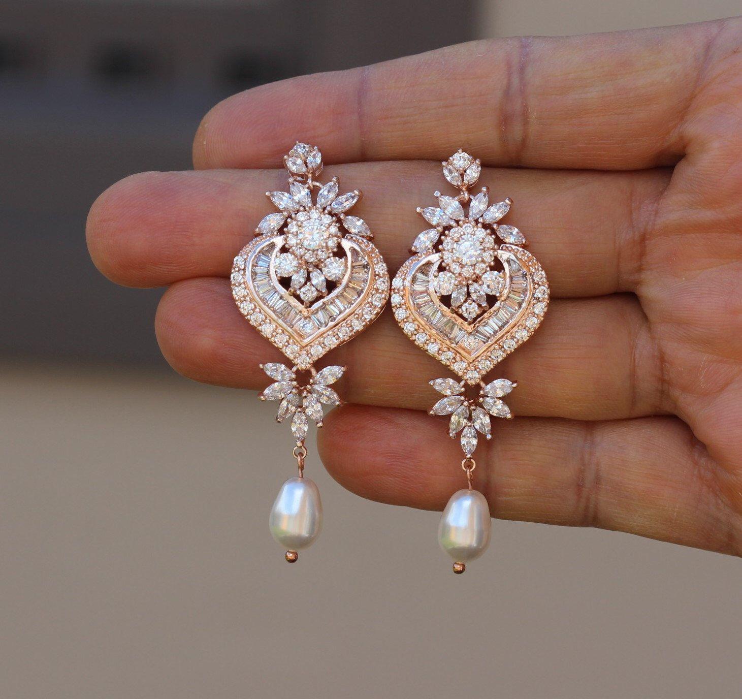 Hochzeit Ohrringe  Pin von Hewan Shikor auf Hochzeit