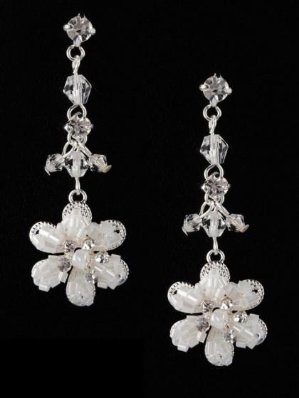 Hochzeit Ohrringe  Perlen Ohrringe für Braut zur Hochzeit bei