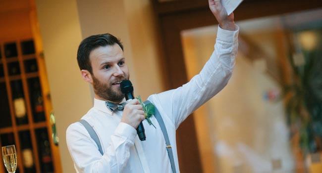 Hochzeit Rede Bräutigam  Eine unterhaltsame Hochzeitsrede halten