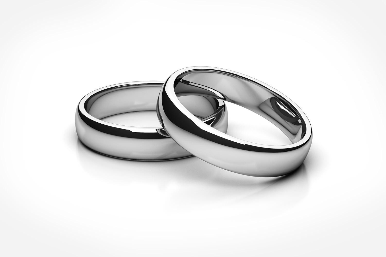 Hochzeit Ringe Symbol Schwarz Weiß  Trauring Imitate erkennen aber wie Trauringstudio Berlin
