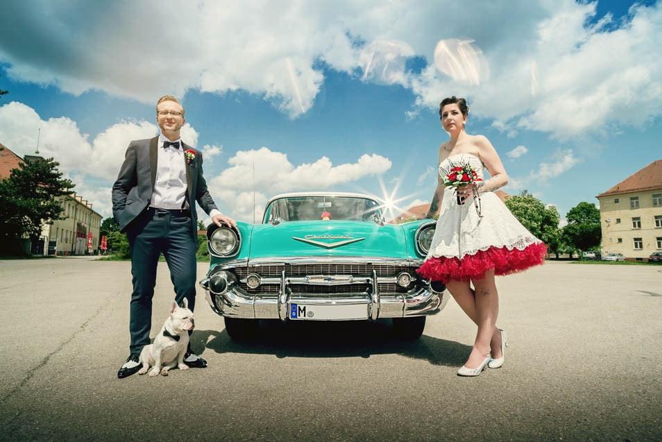Hochzeit Rockabilly  Rockabilly Hochzeit – Inspirationsshoot voll Rock n Roll