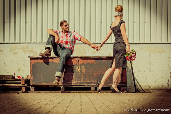 Hochzeit Rockabilly  Rockabilly Hochzeit Bremerhaven on Behance