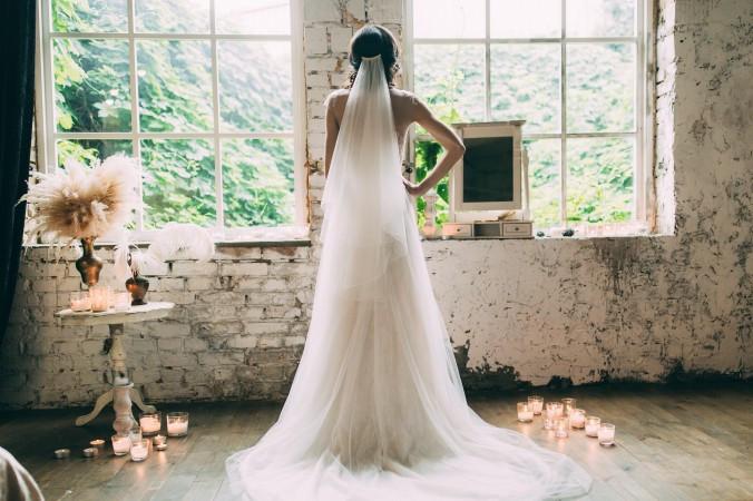 Hochzeit Schleier  Brautfrisuren mit Schleier Welche Frisur passt zu welchem