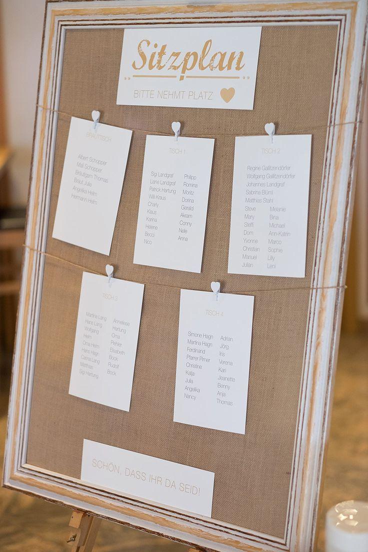 Hochzeit Sitzplan  Die 25 besten Ideen zu Sitzplan hochzeit auf Pinterest